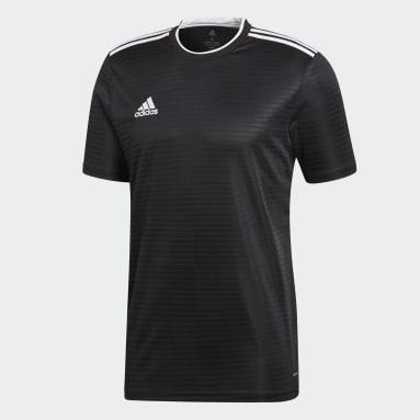 Heren Voetbal Zwart Condivo 18 Voetbalshirt