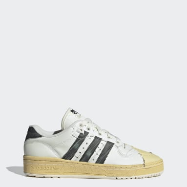 Women Originals White Rivalry Lo Superstar Shoes