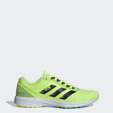 Women's Running Yellow Adizero RC 3 Shoes