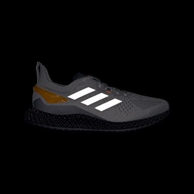Běh šedá Boty X90004D