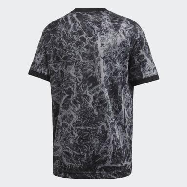 Camiseta calentamiento Alemania Negro Niño Fútbol