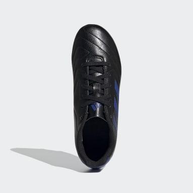 Children Soccer Black Goletto VII Firm Ground Cleats