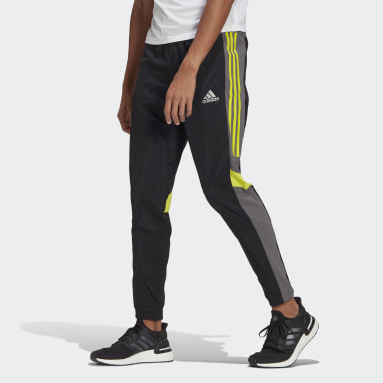 Men Running Black Track Pants