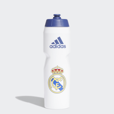 Voetbal Wit Real Madrid Fles