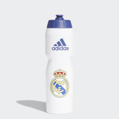 Football White Real Madrid Water Bottle