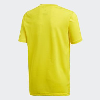 Youth 8-16 Years Football Yellow Condivo 18 Training Jersey