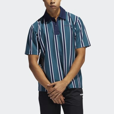 Polo Stripe Turquoise Hommes Originals