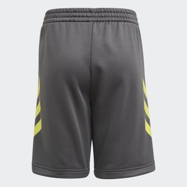Short XFG AEROREADY Primeblue Gris Garçons Fitness Et Training