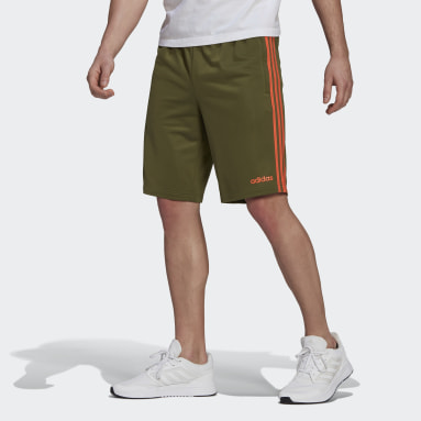 Men's Essentials Green Essentials 3-Stripes Shorts