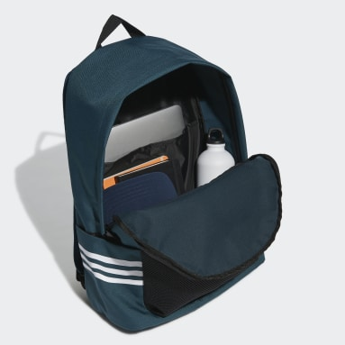 Lifestyle Turquoise Classic 3-Stripes Backpack
