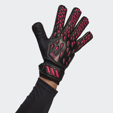 Football Black Predator Training Goalkeeper Gloves