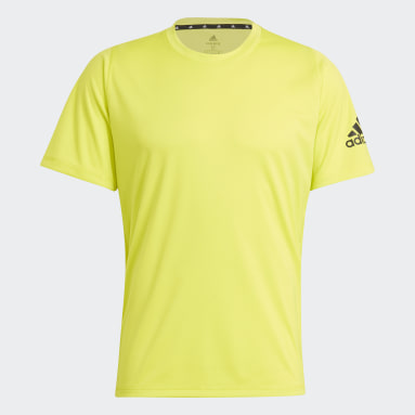 Men Training Yellow Freelift Ultimate AEROREADY Designed 2 Move Sport Tee