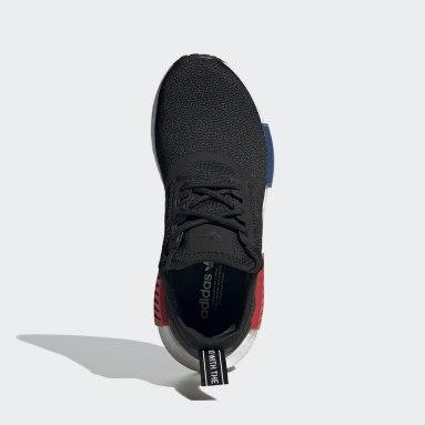 Kinderen Originals zwart NMD_R1 Refined Schoenen