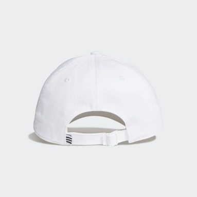 Field Hockey White Baseball Cap
