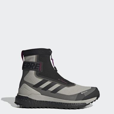 Chaussure de randonnée Terrex Free Hiker COLD.RDY Gris Femmes TERREX