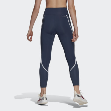 Tight 7/8 adidas Designed 2 Move AEROREADY Dance Bleu Femmes Yoga