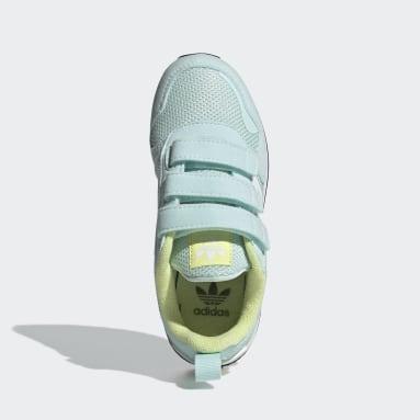 Kids 4-8 Years Originals Green ZX 700 HD Shoes