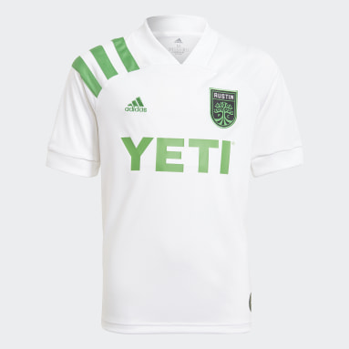 Youth Soccer White Austin FC 21/22 Away Jersey