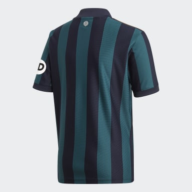 Camiseta segunda equipación Leeds United FC 20/21 Azul Niño Fútbol