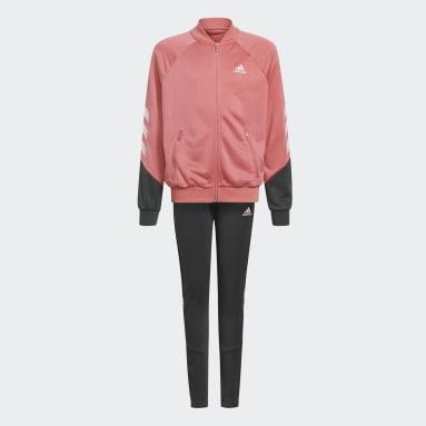 Mädchen Fitness & Training XFG 3-Streifen Primegreen Trainingsanzug Rosa