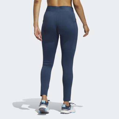 Women Golf Blue UV Techfit Leggings