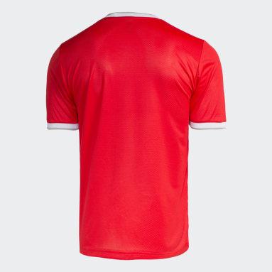 Camisa Internacional Vermelho Homem Futebol