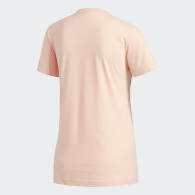 Women's Essentials Pink Badge of Sport Tee