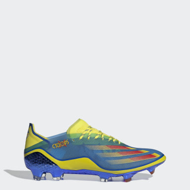 Chaussure Marvel X Ghosted.1 Terrain souple Bleu Soccer