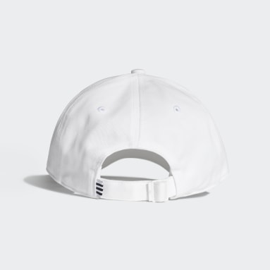 Originals White Trefoil Baseball Cap