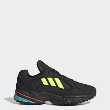 Women Originals Black Yung-1 Trail Shoes