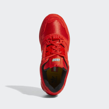 Youth Originals Red adidas ZX 8000 x LEGO® Shoes