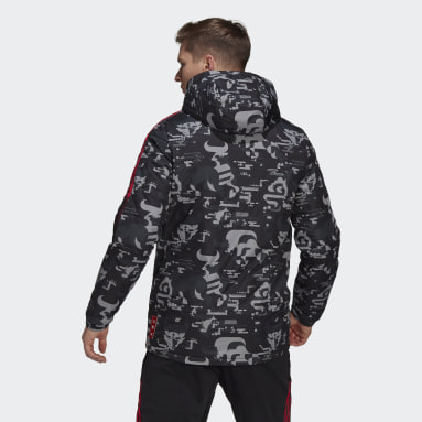 Men Football Black FC Bayern CNY Padded Jacket