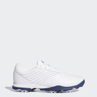 Women Golf White Adipure DC2 Golf Shoes