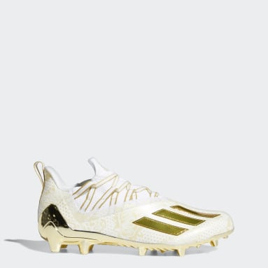 Men's Football White Adizero 11.0 Comics Football Cleats