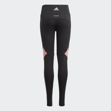 Youth 8-16 Years Gym & Training Black Believe This AEROREADY Bold Leggings