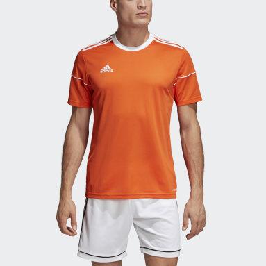 Maillot Squadra 17 Orange Hommes Fitness Et Training