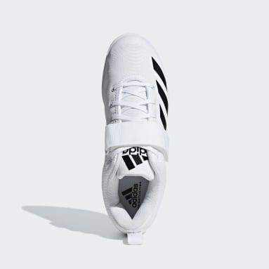 Chaussure Powerlift 4 blanc Hommes Haltérophilie