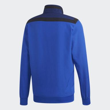 Männer Fitness & Training Tiro 19 Präsentationsjacke Blau