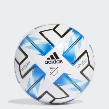 Men Soccer White MLS Nativo XXV League Ball