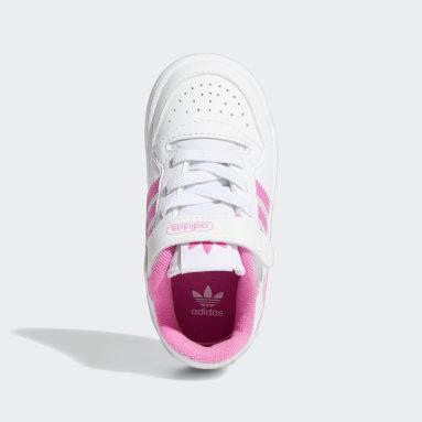 Infant & Toddler Originals White Forum Low Shoes