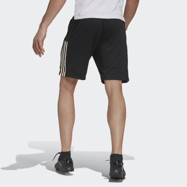 Men Football Black Juventus Shorts