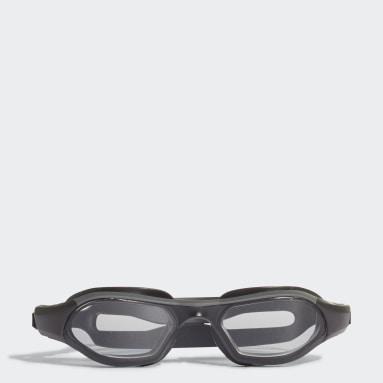 Kids Swimming Grey Persistar 180 Unmirrored Goggles