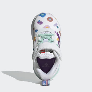Chaussure adidas FortaRun x LEGO® DOTS™ Blanc Enfants Running