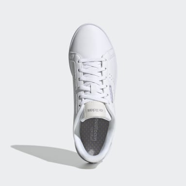 Women Sport Inspired White Courtpoint Base Shoes