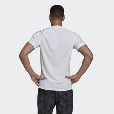 T-SHIRT FREELIFT SOLID TENNIS HEAT.RDY Blanc Hommes Tennis