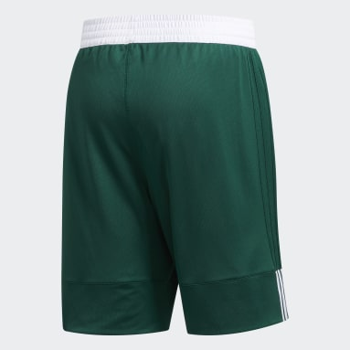 Short 3G Speed Reversible Vert Hommes Basketball