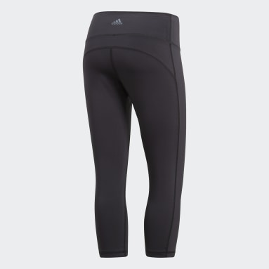 Women's Yoga Black Believe This High-Rise 3/4 Tights