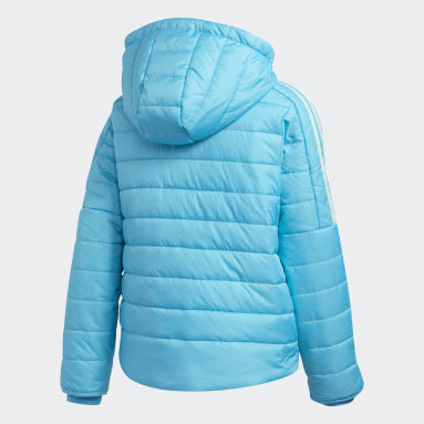 Children Training Blue Classic Puffer Jacket