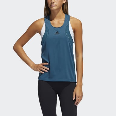 Women's Yoga Turquoise HEAT.RDY Training Tank Top