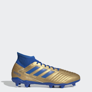 Men Football Gold Predator 19.3 Firm Ground Boots